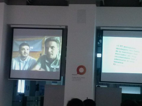 Omar Pera e Iñaki Berenguer, emprendedores