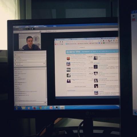Videotutoría sobre redes sociales en la Universidad Politécnica de Valencia