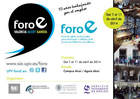Foro de Empleo 2014 - UPV Alcoy